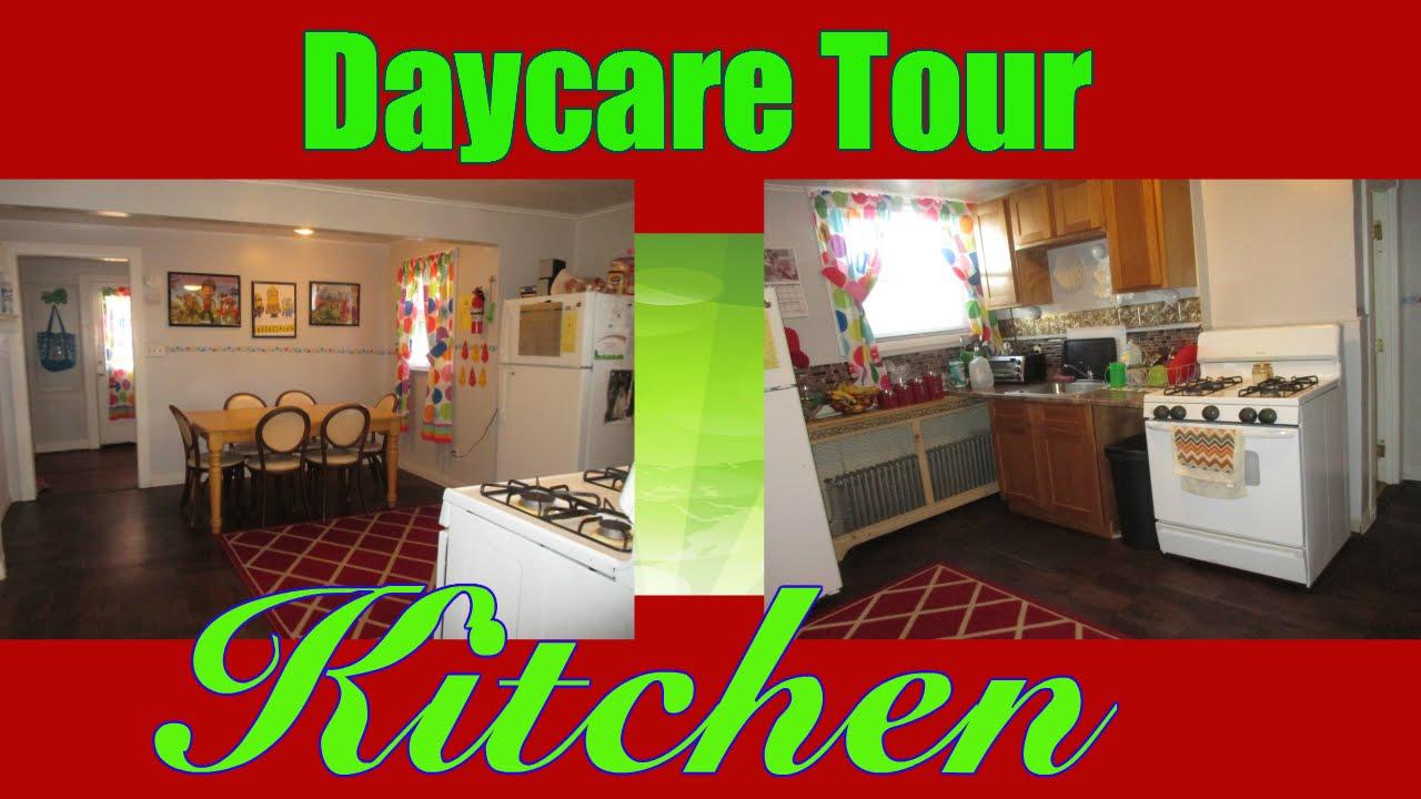 Daycare Tour Kitchen Youtube