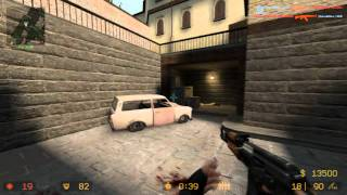 Counter-Strike Source Gameplay ( DM ) Deathmatch cs_Italy 1280 x 720 60 Hz