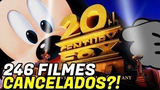 DISNEY E FOX | CENTENAS DE FILMES CANCELADOS?! Entenda!