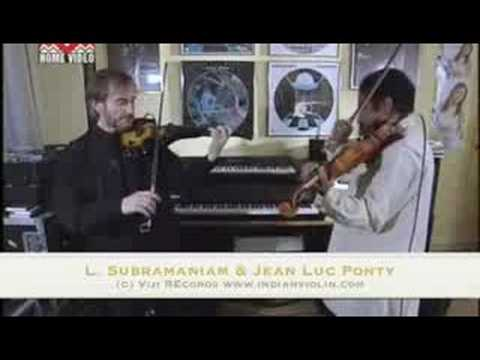 L. Subramaniam and Jean Luc Ponty