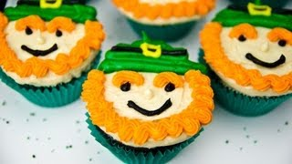 Leprechaun Cupcakes for Saint Patrick