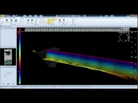 Port, quai et navire  Inspection sous-marine par sonar 3D   - MSi3D