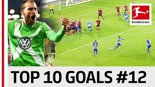 Top 10 Goals - Players with Jersey Number 12