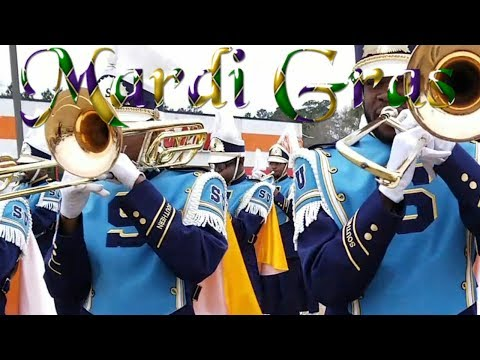 SU Human Jukebox Marching Band - 2018 Mardi Gras Parade