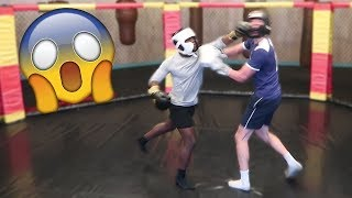 TRAINING FOR MY BOXING MATCH