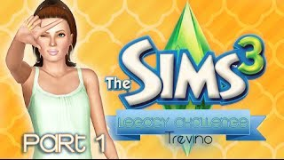 The Sims 3: Trevino Legacy Challenge - {Part 1} Roughin' It.