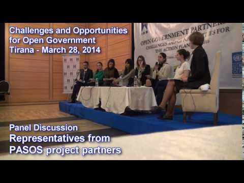 Challenges and Opportunities for Open Government: Panel Discussion