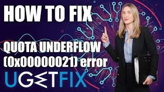 How to fix Quota_underflow error windows 10
