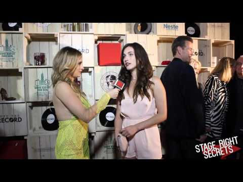 Rainey Qualley Interview at Off The Record Nashville Red Carpet