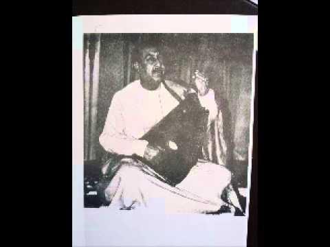 Ustad Sarahang- Thumri Bhairavi- old recording