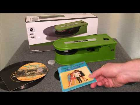 Alien Green Record Player Review