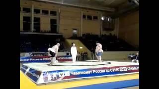 Чемпионат России по сумо - 2017