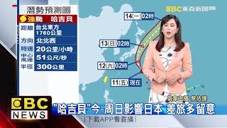 氣象時間 1081011 早安氣象 東森新聞
