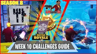 FORTNITE: SEASON 8 WEEK 10 CHALLENGES WITH SECRET BANNER LOCATION AND MORE