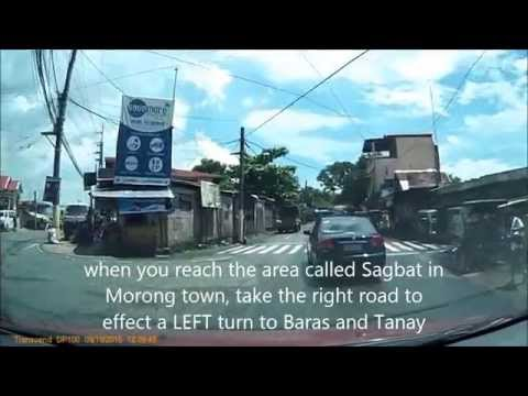 How to Get to Paete, Laguna via Antipolo Rizal and Manila East Road