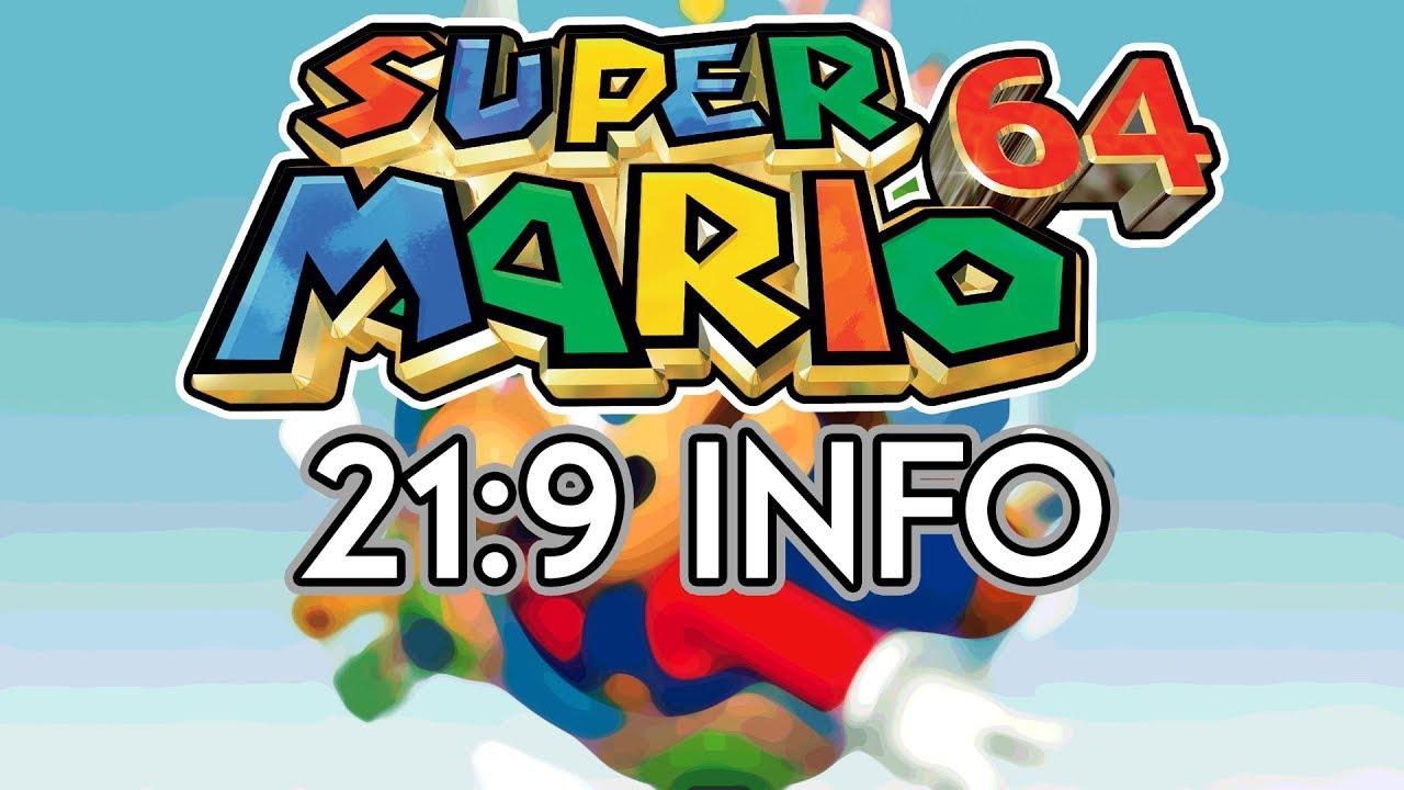 Super Mario 64 | 21:9 Review