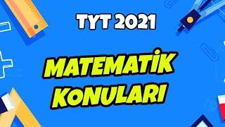 TYT 2021 Matematik Konuları Neler? hedefekoş
