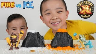 New Treasure X Fire Vs Ice Unboxing Surprise Fun With CKN Toys