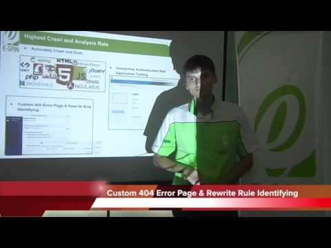 E-SPIN Web Application Security Assessment (Technical Overview)