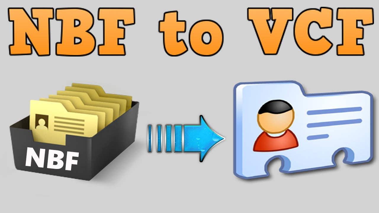How to convert  NBF to  VCF or extract contacts from  NBF file [HD +  Narration]