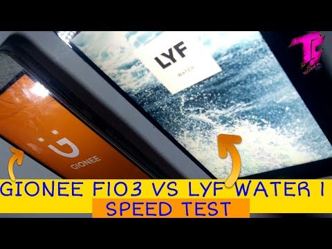 Gionee F103 Pro Water Test Videos - Waoweo
