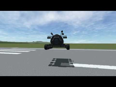 Kerbal Space Program - Slow Motion Jump with Science Bus [KSP]