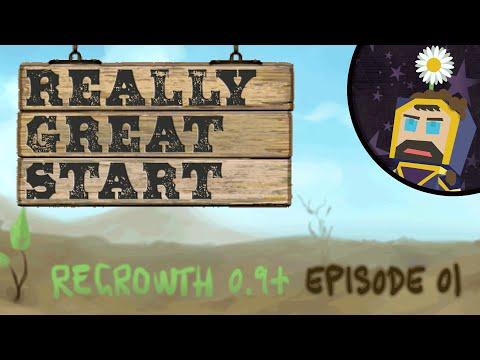 Minecraft Regrowth 0.9+ - Season 2 - Episode 01 - Really Great Start