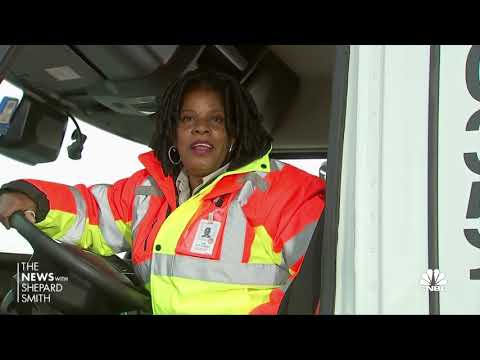 Women truck drivers on the rise