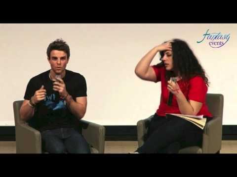 LOVE AND BLOOD ITACON ITALY - Nathaniel Buzolic Full Panel