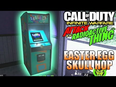 EASTER EGG SKULL HOP - Attack Of The Radioactive Thing - GHOST N SKULLS 4 - PAPA-MOEDAS