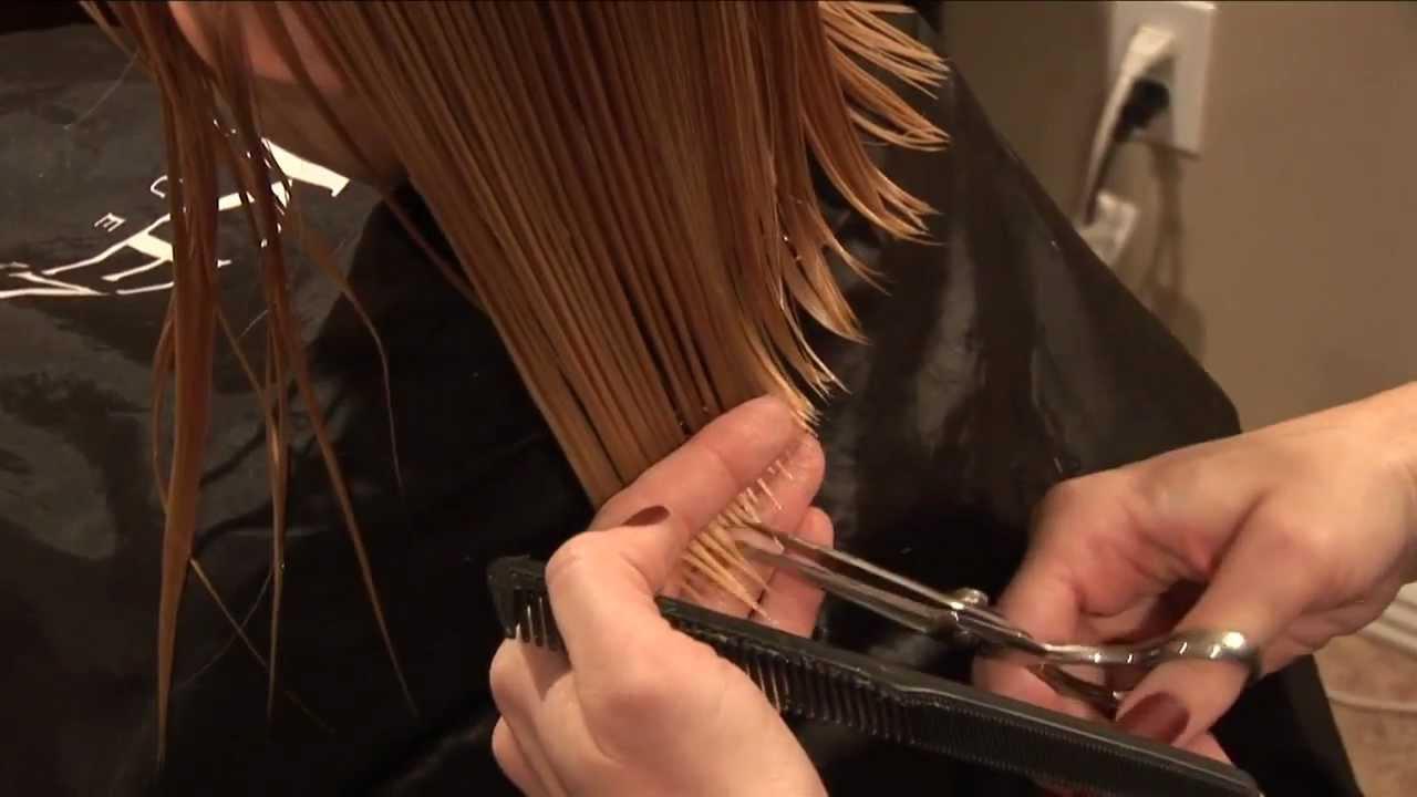 cut girls hair basic