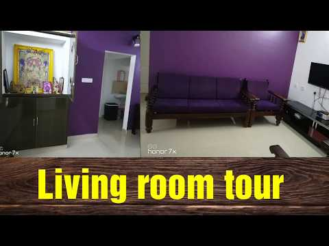 Living room tour ||  Indian organized living room tour ||Living room organization ideas