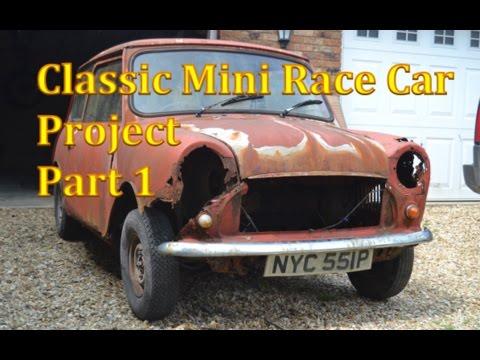 Classic Mini Race Car Project | Part 1