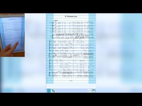 Tuto ChorusPoint - 1 - Comment importer une partition en PDF ?