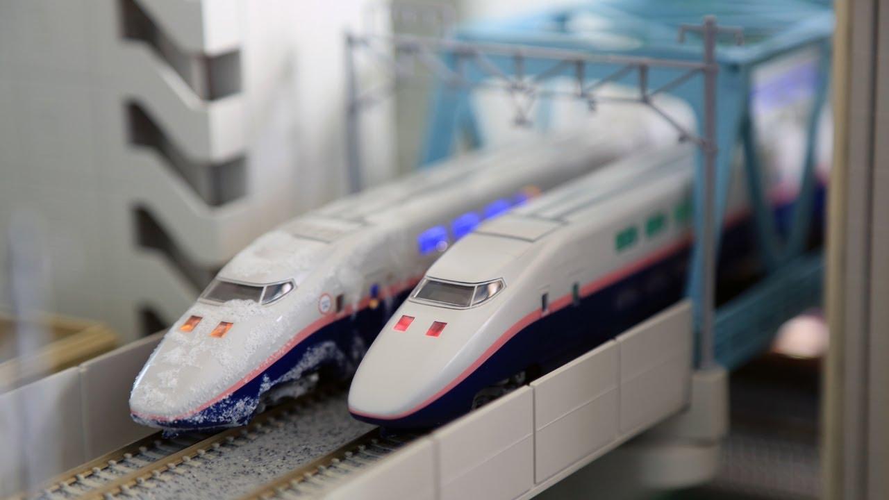 Tomix E1系上越新幹線 Max 鉄道模型運転会 Youtube