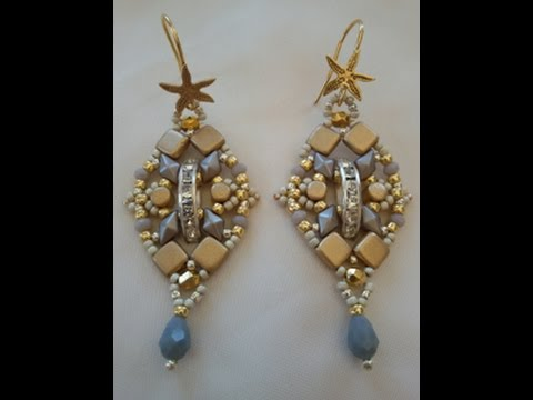 Tutorial Orecchini Silver And Gold / Tutorial Silver And Gold Earrings