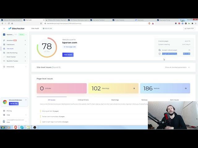 Sitechecker.pro - Test et Avis de l'outil d'analyse SEO !