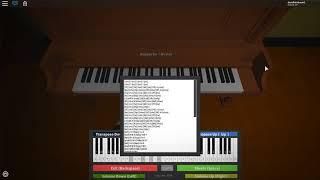 ROBLOX Virtual Piano - Tetris Theme Song