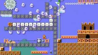 Super Mario Maker - Brutal Mario Bros. (SSC)