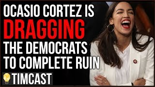 Tim Pool Ocasio Cortez Is Dragging 2020 Democrats To Complete Ruin And CNN's Ratings Prove It