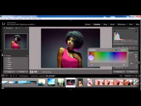 Как обрабатывать фотографии в Lightroom и создавать Preset