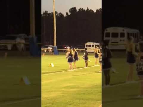 Mary Case 1st game as a PAC cheerleader - jamboree @ Jefferson Davis Academy