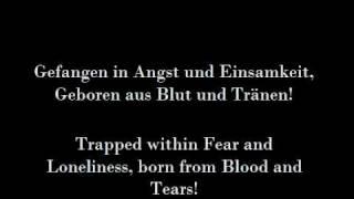 Eisbrechers 'Blut und Tränen' (English Lyrics)