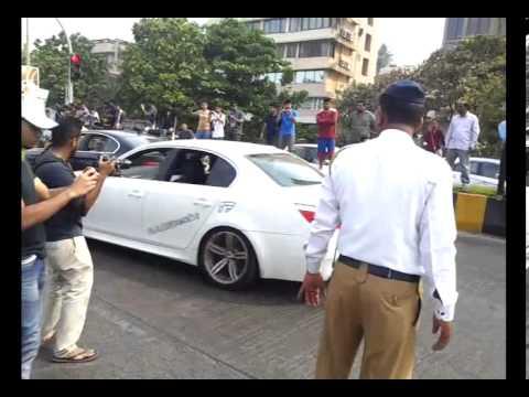 All super cars at parx rally 2013 mumbai