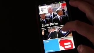 फ्लिपबोर्ड समाचार ऐप - एंड्रॉइड ऐप समीक्षा और डेमो screenshot 2