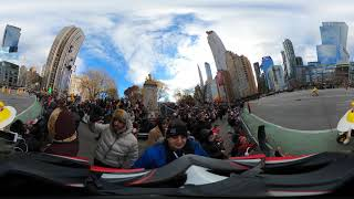 360° Macy's Thanksgiving Paŗade 2019 from Columbus Circle - 1 Hour
