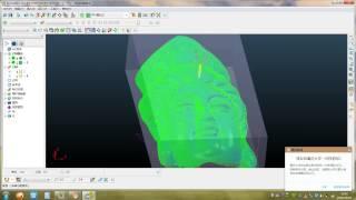 видео 4-оси программы для фрезерный станок с чпу на Powermill