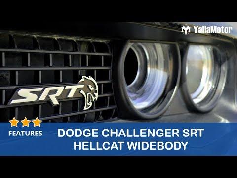 Dodge Challenger SRT Hellcat Widebody Features   YallaMotor