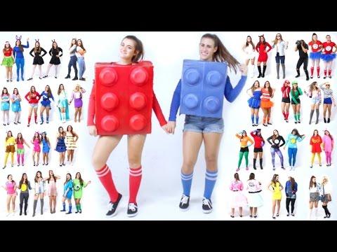 e0e9fb22c 100 Last-Minute DIY Halloween Costume Ideas - YouTube