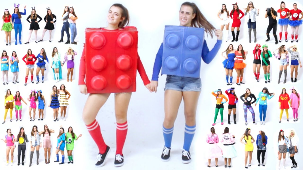 30 Last-Minute BEST FRIEND Halloween Costume Ideas! - YouTube